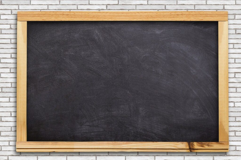 school, board, empty